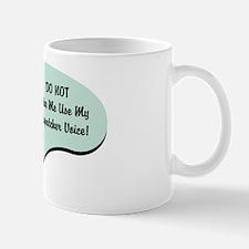 Dispatcher Voice Small Small Mug
