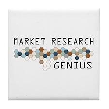 Market Research Genius Tile Coaster