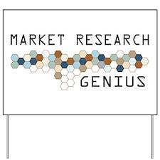 Market Research Genius Yard Sign