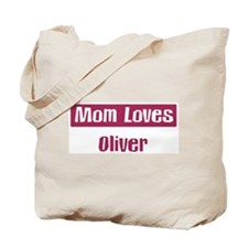 Mom Loves Oliver Tote Bag