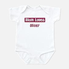 Mom Loves Oliver Infant Bodysuit