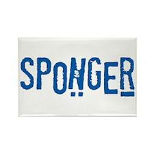 Sponger Rectangle Magnet