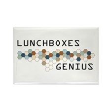 Lunchboxes Genius Rectangle Magnet