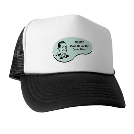 Curler Voice Trucker Hat