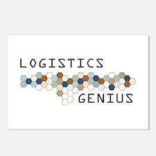 Logistics Genius Postcards (Package of 8)
