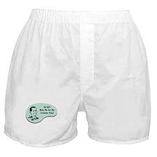 Crocheter Voice Boxer Shorts