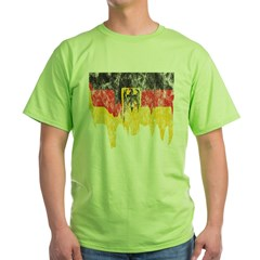 Vintage Melting Germany Flag T-Shirt