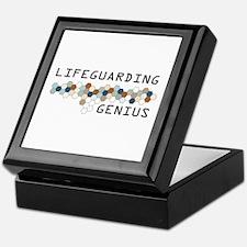 Lifeguarding Genius Keepsake Box