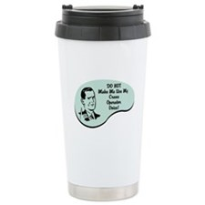 Crane Operator Voice Travel Mug