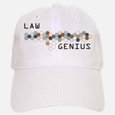 Law Genius Baseball Baseball Cap