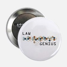 "Law Genius 2.25"" Button (10 pack)"