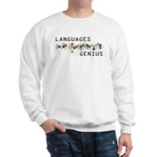 Languages Genius Sweatshirt