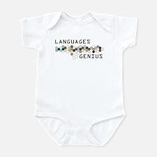 Languages Genius Infant Bodysuit