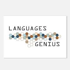 Languages Genius Postcards (Package of 8)