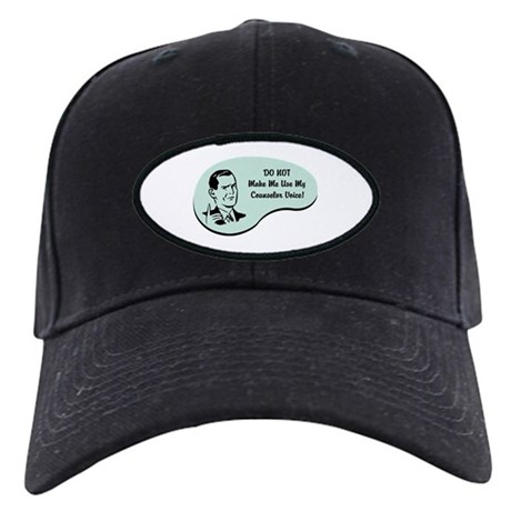 Counselor Voice Black Cap