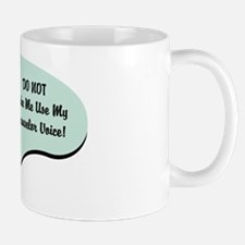 Counselor Voice Mug