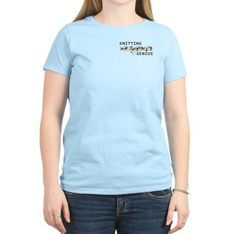 Knitting Genius Women's Light T-Shirt