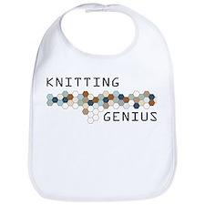 Knitting Genius Bib
