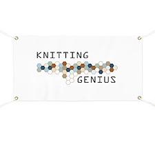 Knitting Genius Banner