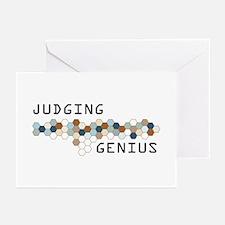 Judging Genius Greeting Cards (Pk of 20)