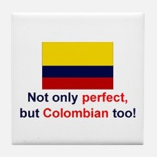 Perfect Colombian Tile Coaster