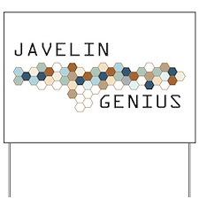 Javelin Genius Yard Sign