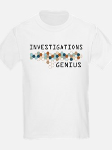 Investigations Genius T-Shirt