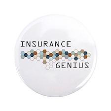 "Insurance Genius 3.5"" Button"
