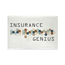 Insurance Genius Rectangle Magnet