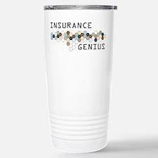 Insurance Genius Stainless Steel Travel Mug