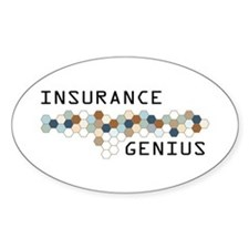 Insurance Genius Oval Decal