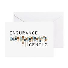 Insurance Genius Greeting Card