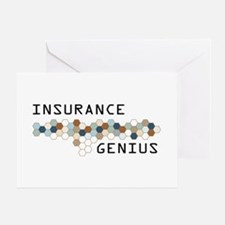 Insurance Genius Greeting Card
