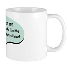 Chiropractor Voice Mug