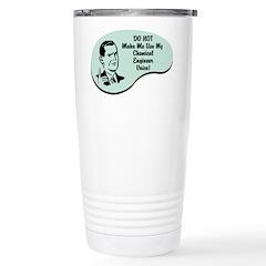 Chemical Engineer Voice Stainless Steel Travel Mug