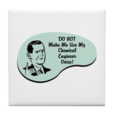 Chemical Engineer Voice Tile Coaster