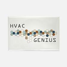 HVAC Genius Rectangle Magnet