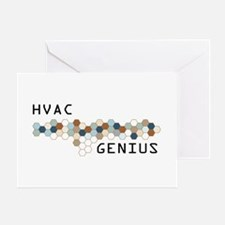 HVAC Genius Greeting Card