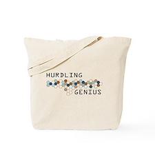 Hurdling Genius Tote Bag