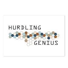 Hurdling Genius Postcards (Package of 8)