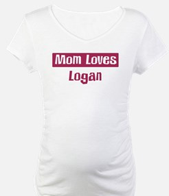 Mom Loves Logan Shirt