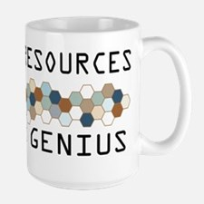 Human Resources Genius Large Mug