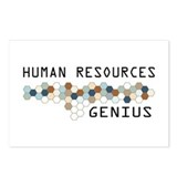 Funny human resources Postcards