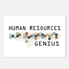 Human Resources Genius Postcards (Package of 8)