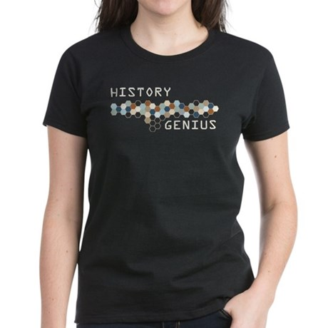 History Genius Women's Dark T-Shirt