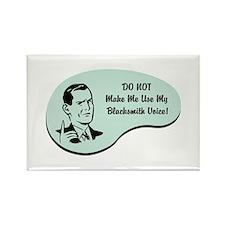 Blacksmith Voice Rectangle Magnet