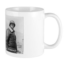 General George Patton Military Gift Small Mugs