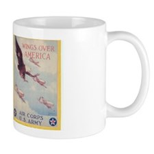 Wings Over Amrica WW II Military Gift Mug