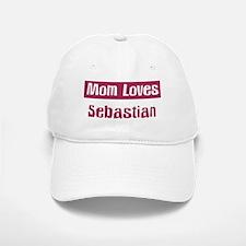Mom Loves Sebastian Baseball Baseball Cap