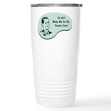 Banker Voice Travel Mug